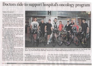 Oncology Ride article